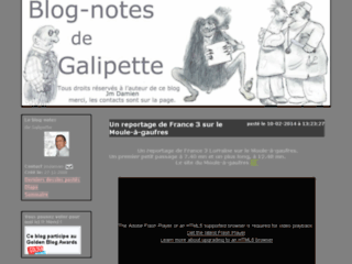 Détails : le blog notes de Galipette